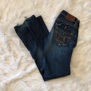 Big star Liv 26L dark wash jeans